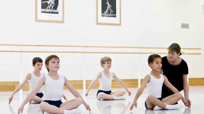 The Royal Ballet School Associates students Patrick Baldwin
