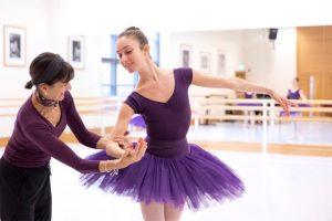 Ballet class at RBS