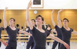 Men's Ballet Class in Upper School Studios