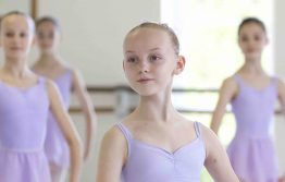 Year 7 Girls ballet class in White Lodge studios