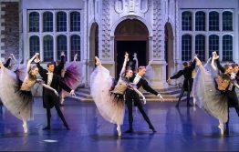 Royal Ballet School Upper School Students performing La Valse at Opera Holland Park