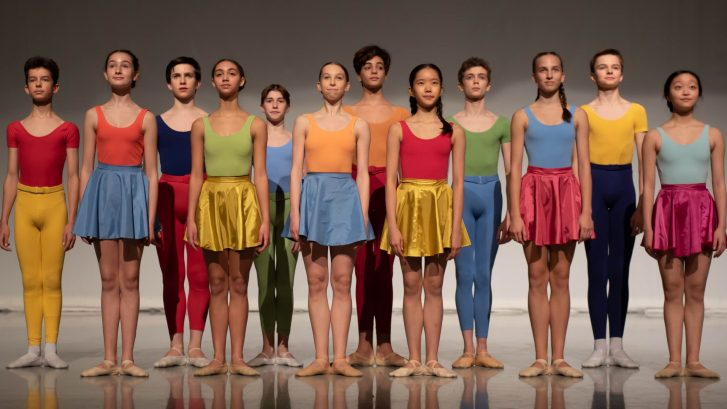 Students in Kenneth MacMillan Emerging Choreographer Performance 2020