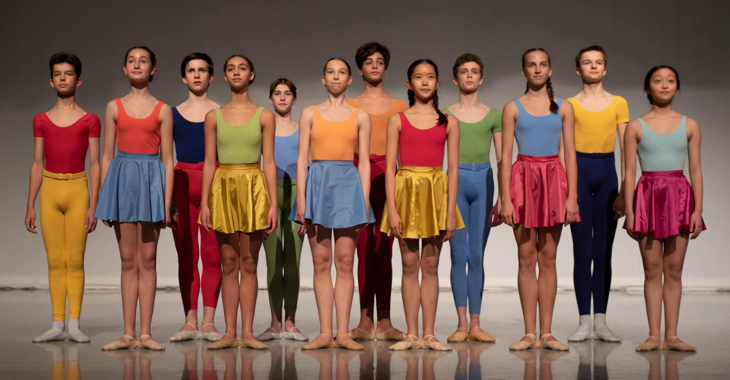 Students in Kenneth MacMillan Emerging Choreographer Performance 2020