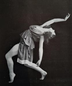 Ninette de Valois as a Nymph in a 1923 Ballets Russes revival of Fokine's ballet Narcisse (1911)